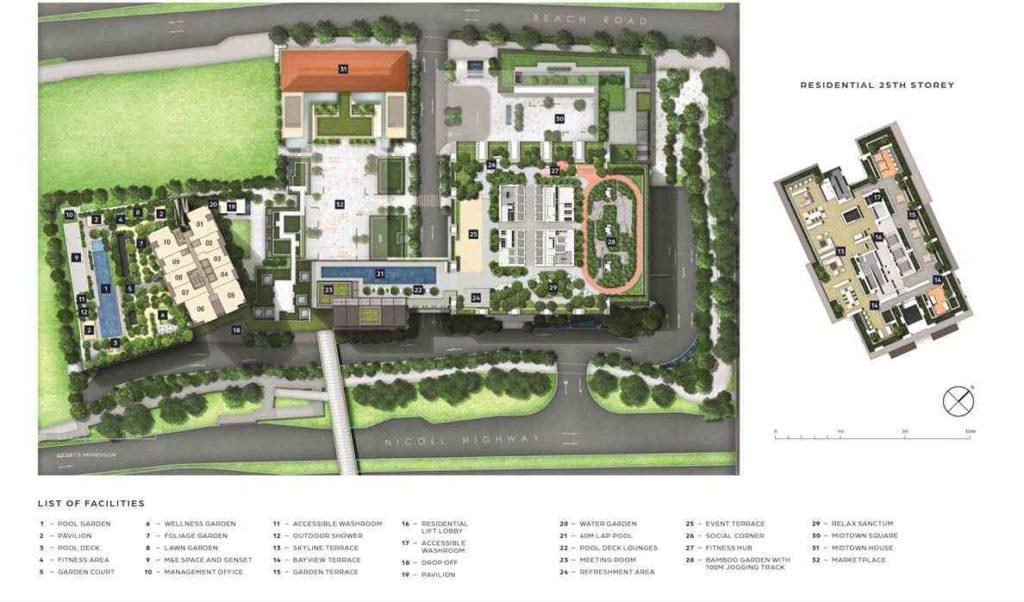 Midtown-Bay-Site-Plan-singapore